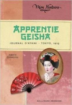 Apprentie geisha: journal d'Ayami – Tokyo 1923 d'Isabelle DUQUESNOY