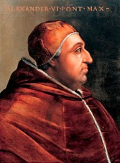 Rodrigo Borgia, Pape Alexandre VI