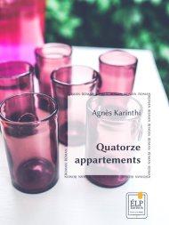 Quatorze appartements d'Agnès KARINTHI