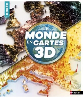 monde en cartes 3d