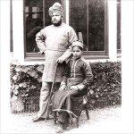 Abdul Karim et son neveu