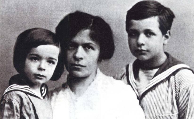 Mileva et ses enfants