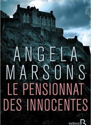 A paraître: le pensionnat des innocentes d'Angela Marsons