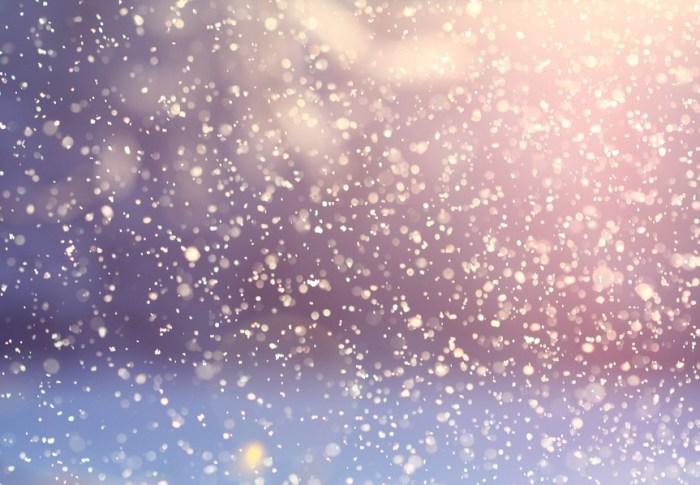 1, 2, 3, nous allons… avoir de la neige!