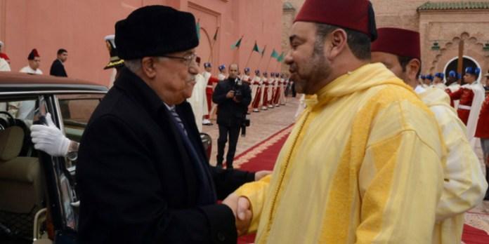 Message de Mahmoud Abbas au roi Mohammed VI