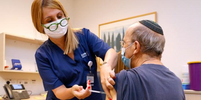 Virus: Israël injecte une 3e dose de vaccin aux 50 ans et plus , H24info