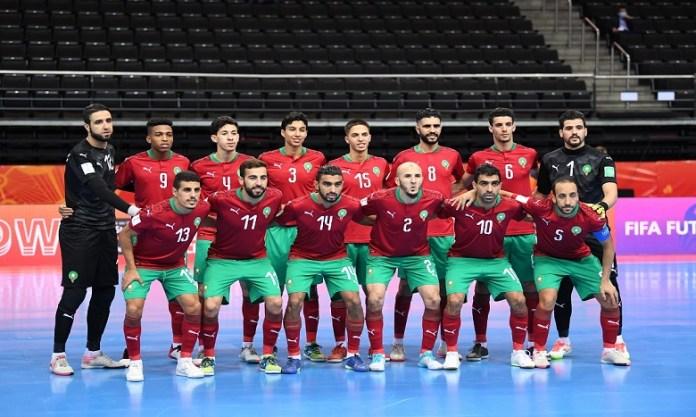 Le Matin – Mondial de Futsal : Les Lions de l'Atlas quittent la compétition la tête haute après leur défaite face au Brésil