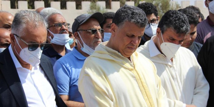 La mère de Abdellatif Ouahbi inhumée à Agadir