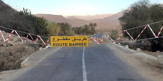 Maroc: cette route sera coupée à partir de vendredi