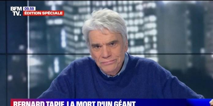 L'homme d'affaires Bernard Tapie est mort