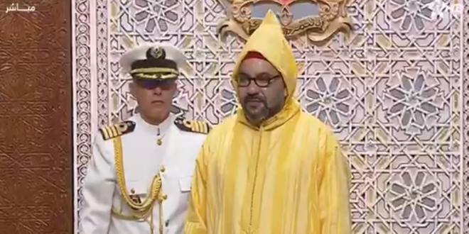 Le roi Mohammed VI adresse vendredi un discours au Parlement