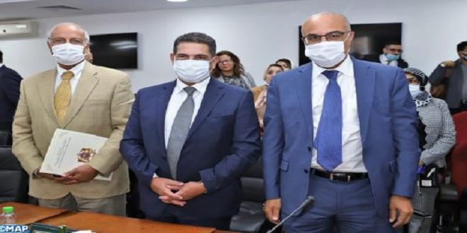 Rabat: passation des pouvoirs entre Amzazi et Ouaouicha et Miraoui