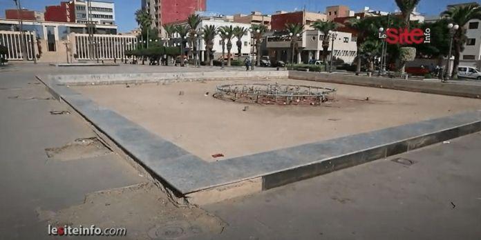 """Oujda: la place """"Jeddah"""" n'est plus ce qu'elle était (VIDÉO)"""
