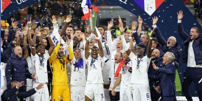 Finale de la Ligue: revivez la victoire de la France face à l'Espagne (VIDEO)