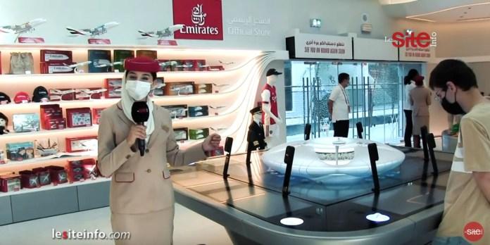 Expo Dubaï 2020: visite guidée du pavillon d'Emirates Airlines (VIDEO)