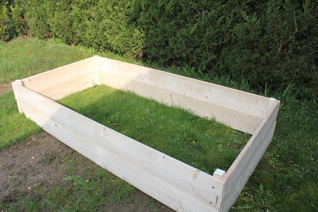 Construire une jardini re - Jardiniere bois pas cher ...