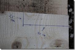 mesure sur planche