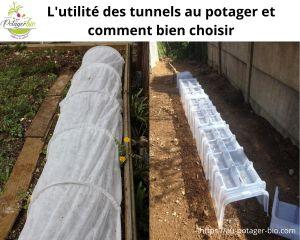 tunnel au potager