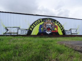 graffiti prescot cables