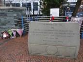 mémorial d'hillsborough à sheffield