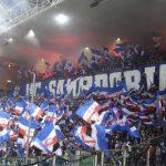 fans de la sampdoria dans le derby