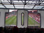 """tifo hommage à un """"TOTO"""" des fans de Kaiserslautern"""