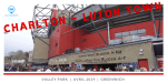 Charlton - Luton Town à Valley Park + Lord's Cricket Ground