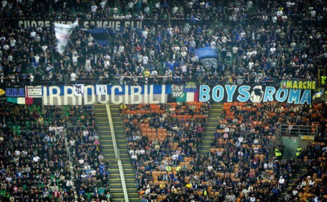 Les tiffosi de l'Inter