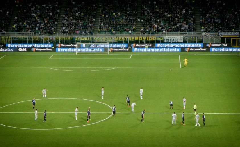 Le match inter - AS Roma 2018-2019