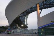 Le stade vu de derrière