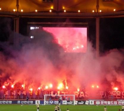 Toujours le même stade, le Munhak Stadium de la CDM 2002