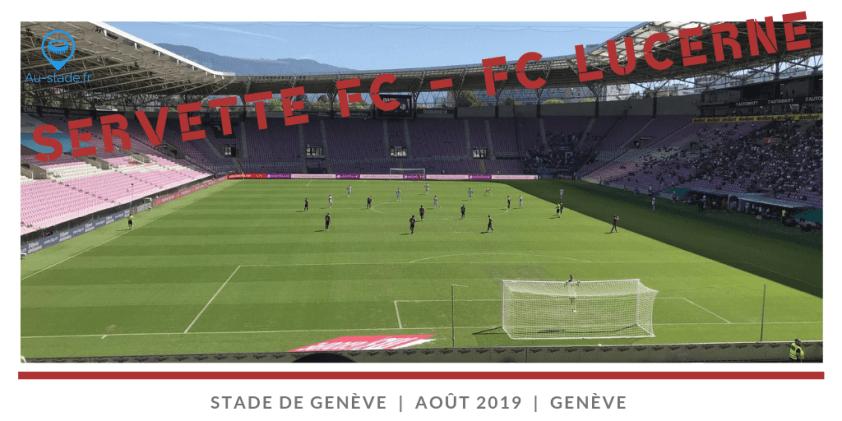 Servette Geneve - FC Lucerne