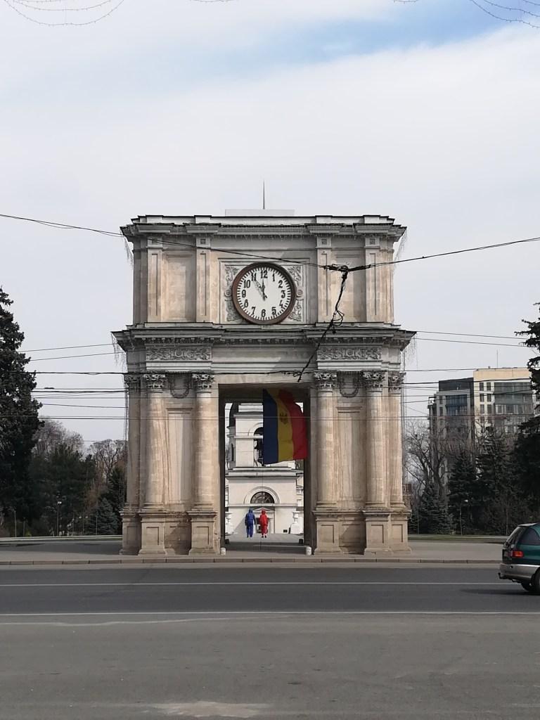 arc de triomphe moldave