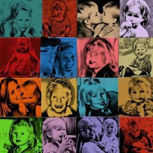 Photo Collage Pop Art