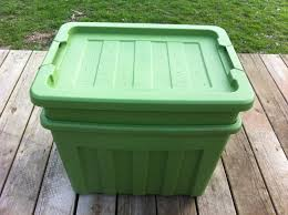 A discreet home composting system complete with a tight fitting lid and ventilation holes.