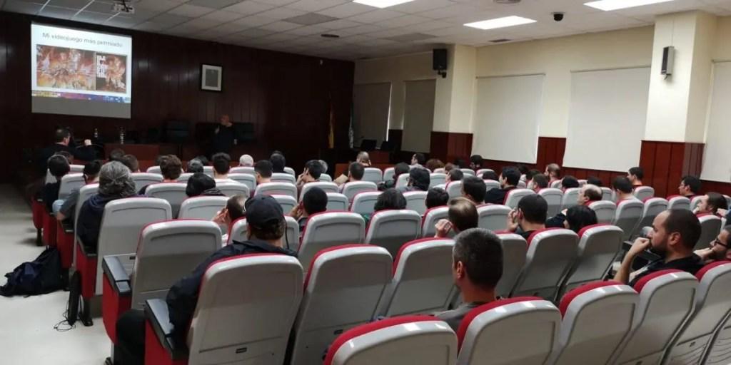 Conferencia en RetroPixel Málaga 2019