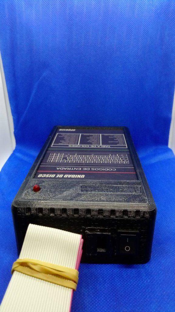 """Caja para disquetera de 3"""" impresión 3D 2"""
