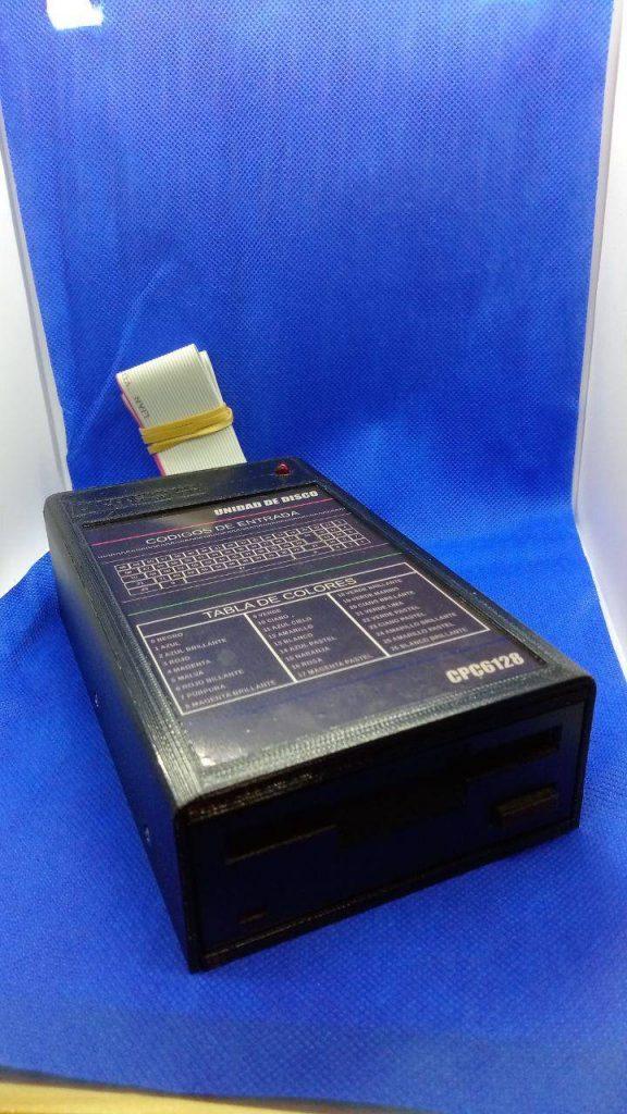"""Caja para disquetera de 3"""" impresión 3D 4"""