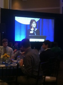 Provost Gretchen Caughman speaks at Augusta University Scholarship Brunch. (Photo: Shellie Smitley)