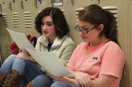 AU students prepared to audition for The Effect, a play by Lucy Prebble, on Jan. 23-24. (Photo: Kait Fruechting)