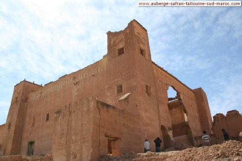 les monuments de taliouine - kasbah sud Maroc