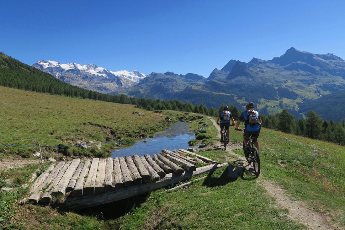 Alla scoperta della Valle d'Aosta in E-bike