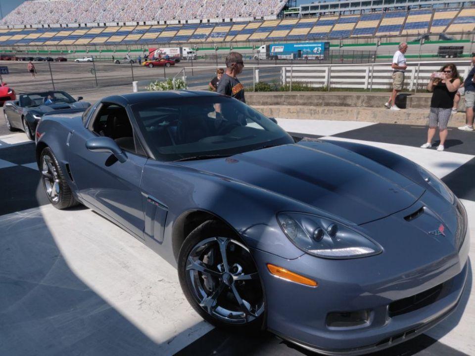 Corvette Caravan at Kentucky Speedway