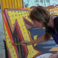 Michelle-Auboiron-Neon-Boneyard-peinture-live-a-Las-Vegas-10 thumbnail