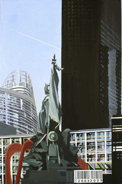 Tableau de Paris la Défense par Michelle Auboiron