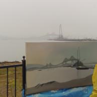 Michelle-Auboiron-Bridges-of-Fame-peinture-live-New-York-San-Francisco-2003--12 thumbnail