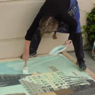 Michelle-Auboiron-Bridges-of-Fame-peinture-live-New-York-San-Francisco-2003--31 thumbnail
