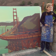 Michelle-Auboiron-Bridges-of-Fame-peinture-live-New-York-San-Francisco-2003--35 thumbnail