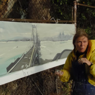 Michelle-Auboiron-Bridges-of-Fame-peinture-live-New-York-San-Francisco-2003--42 thumbnail