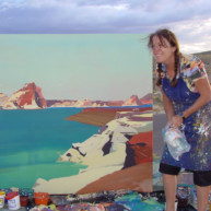 Michelle-Auboiron-Colorado-peintures-Ouest-americain-Utah-Nevada-Arizona-Californie-2001--17 thumbnail